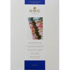 Карта цветов DMC Color Card, 35 New Colors (W100B)