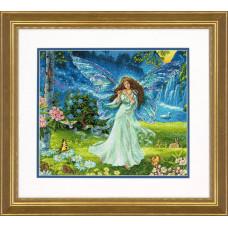 Набор для вышивания крестом Dimensions Весенняя фея (70-35354)