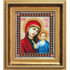 Набор для вышивания бисером Чарівна мить Казанская Богородица (Б-035)