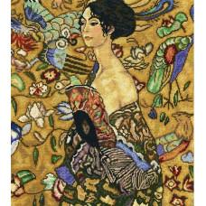 Женщина с веером (M443)