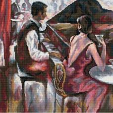 Пианист, по мотивам работ Брента Хейгтона (M171)