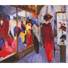 Парижские витрины / Paris showcase (М543)