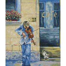 Уличный музыкант (М467)*