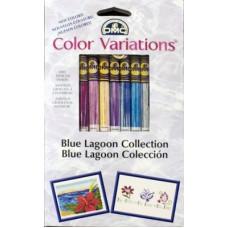 Набор мулине DMC Blue Lagoon Collection Floss Pack Голубая лагуна (417XUS5)