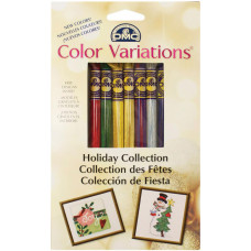 Набор мулине DMC Holiday Collection Floss Pack Праздники (417XUS6)