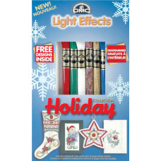 Набор мулине DMC DMC Light Effects Assortments Holiday Collection (LTE317WPK4)