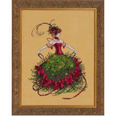 Оригинальная схема Miss Christmas Eve (MD148)