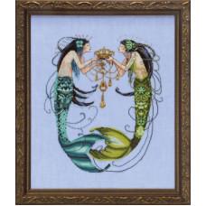 Оригинальная схема The Twin Mermaids (MD141)