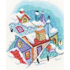 Зима на крышах (M655)