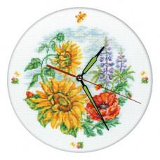 Цветочные часы (M40007)