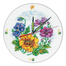 Цветочные часы (M40006)