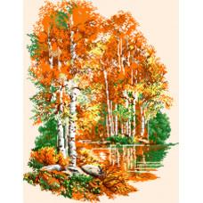 Берёзки осенью (0.20)