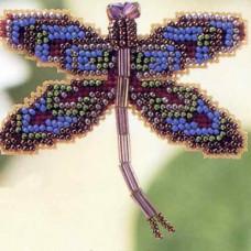 Королевская лиловая стрекоза (MHDF2)