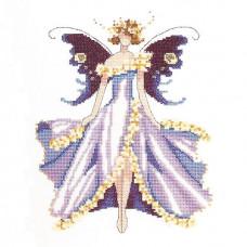 Схема для вышивки крестом Mirabilia Designs Cherry Blossom-Spring Garden Party - Pixie Couture Collection (NC169)