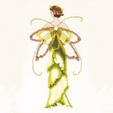 Схема для вышивки крестом Mirabilia Designs Amaryllis Spring Garden - Pixie Couture Collection (NC135)