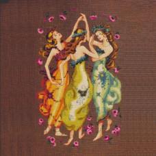 Схема для вышивки крестом Mirabilia Designs Circle Of Friends (MD101)