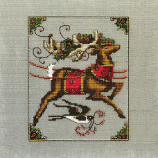 Схема для вышивки крестом Mirabilia Designs Cupid - Christmas Eve Couriers (NC118)