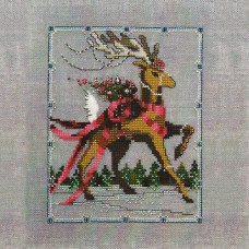 Схема для вышивки крестом Mirabilia Designs Dancer - Christmas Eve Couriers (NC115)