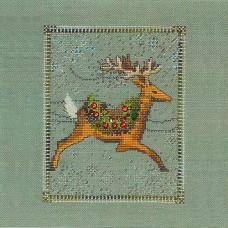 Схема для вышивки крестом Mirabilia Designs Dasher- Christmas Eve Couriers (NC113E)