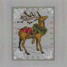 Схема для вышивки крестом Mirabilia Designs Donner - Christmas Eve Couriers (NC114)