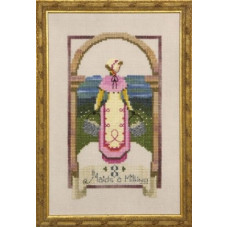 Схема для вышивки крестом Mirabilia Designs Eight Maids A Milking - 12 Days of Christmas (NC148E)