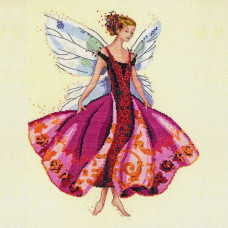 Набор бисера MillHill для дизайна Mirabilia Januarys Garnet Fairy (MD108E)
