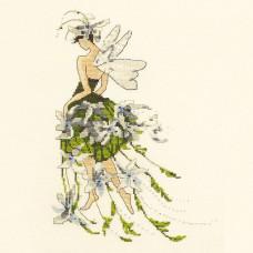 Набор бисера MillHill для дизайна Mirabilia Jasmine - Pixie Couture Collection (NC127E)