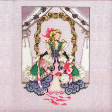 Схема для вышивки крестом Mirabilia Designs Alice (MD157)