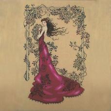 Схема для вышивки крестом Mirabilia Designs  Lady of Mystery (MD152)