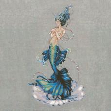 Схема для вышивки крестом Mirabilia Designs Aphrodite Mermaid (MD144)
