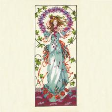 Схема для вышивки крестом Mirabilia Designs Blossom Goddess (MD146)