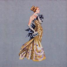 Схема для вышивки крестом Mirabilia Designs Lady Alexandra (MD115)
