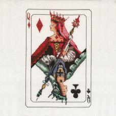 Схема для вышивки крестом Mirabilia Design Royal Games II ( MD154)