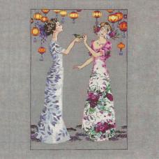 Схема для вышивки крестом Mirabilia Design The Garden Party (MD140)