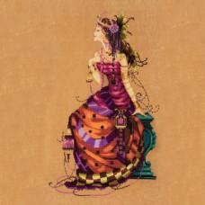 Схема для вышивки крестом Mirabilia Design The Gypsy Queen (MD142)