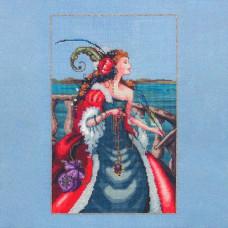 Схема для вышивки крестом Mirabilia Design The Red Lady Pirate (MD113)