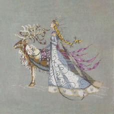 Схема для вышивки крестом Mirabilia Design The Snow Queen (MD143)