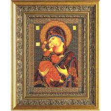 Набор для вышивания бисером Икона Владимирская Богородица (В-147)