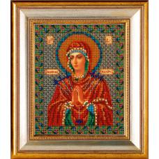 Набор для вышивания бисером Икона Богородица Умягчение злых сердец (В-154)