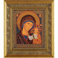 Набор для вышивания бисером Икона Казанская Богородица (В-148)