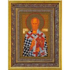 Набор для вышивания бисером Икона Св.Николай Чудотворец (В-151)