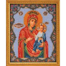 Набор для вышивания бисером Икона Иверская Богородица (В-162)