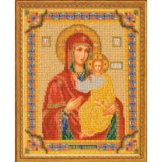 Набор для вышивания бисером Икона Смоленская Богородица (В-163)