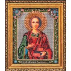 Набор для вышивания бисером Икона Св. В.М. и Целитель Пантелеимон (В-159)