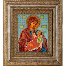 Набор для вышивания бисером Икона Богородица Утоли Мои Печали (В-158)