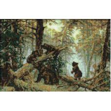 Утро в сосновом лесу (536)