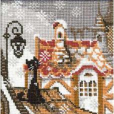 Набор для вышивания крестом Риолис Зима (610)