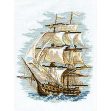 Набор для вышивания крестом Риолис Корабль (479)