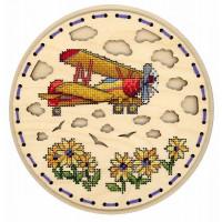 Набор для вышивания крестом М.П.Cтудия Высоко в небе (О-030)