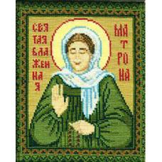 Набор для вышивания крестом Риолис Святая Блаженная Матрона (876)